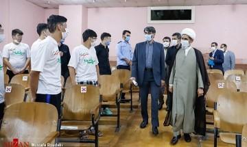 مراسم «آزادی ۱۲ مددجوی کانون اصلاح و تربیت تهران» به همت ستاد ملی صبر و مرکز توسعه حل اختلاف قوه قضاییه